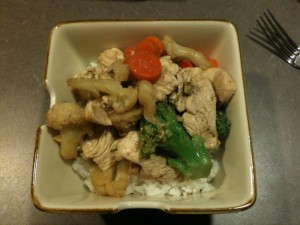 Snappy Chicken and Veggies